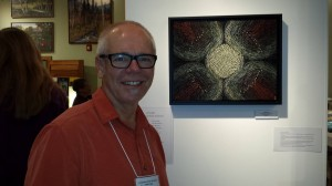 Portland mosaic artist Scott Fitzwater will attend the opening night reception at IMA, Sept.19.