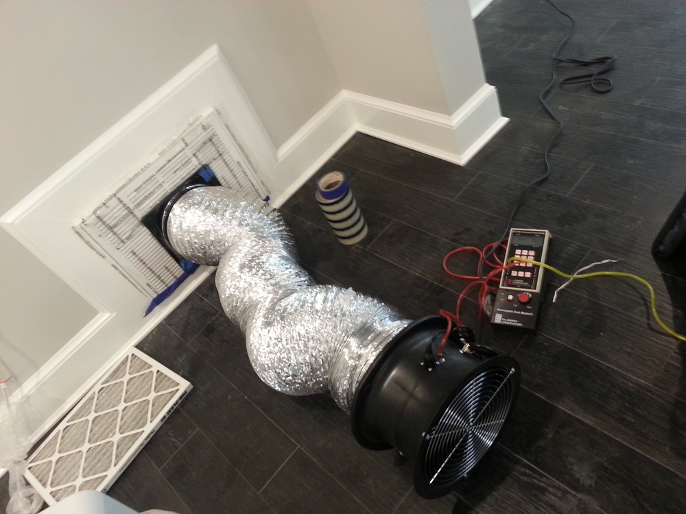 Duct TIghtness Testing by Groundswell Contracting