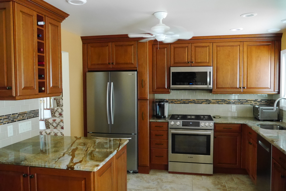 Adelphi custom kitchen after installation by Groundswell Contracting