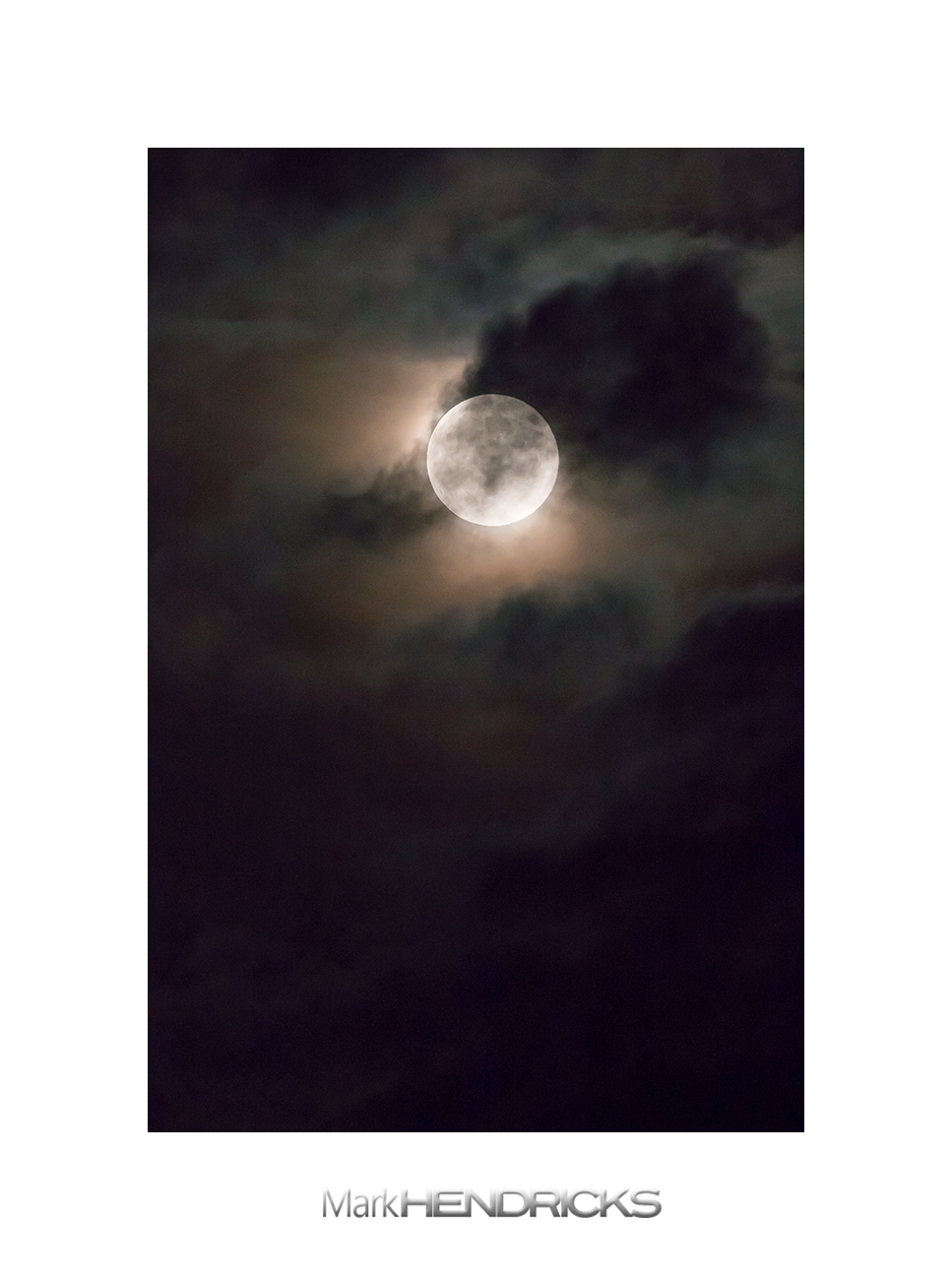 Supermoon- Shenandoah National Park- Hawksbill Mountain