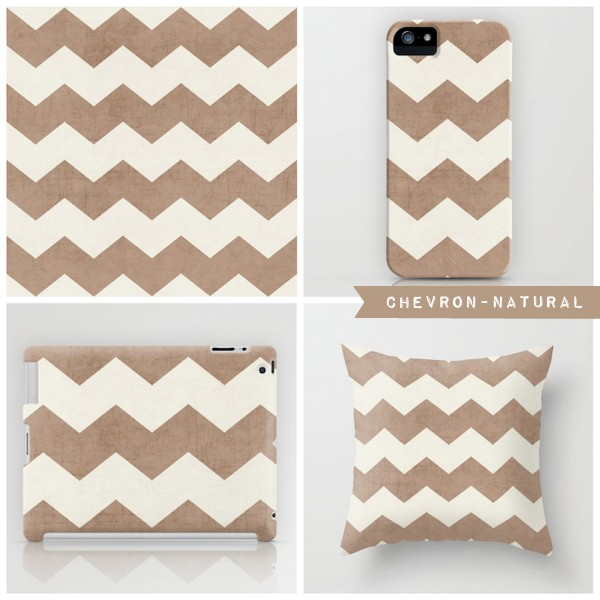 chevron- natural