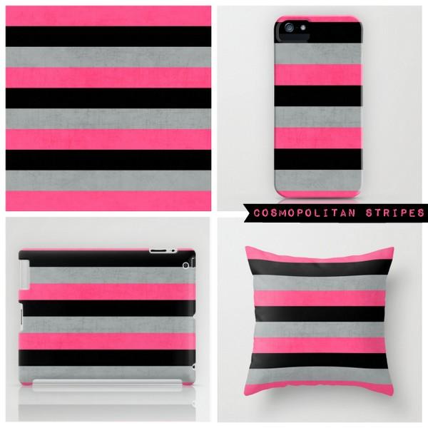 cosmopolitan stripes