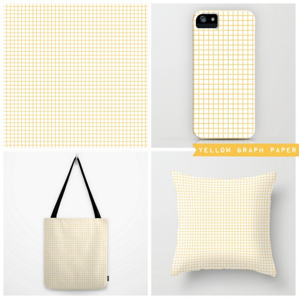 yellow graph paper