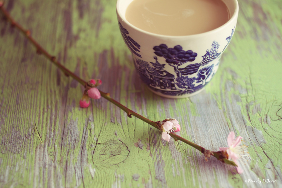 blossoms and tea II