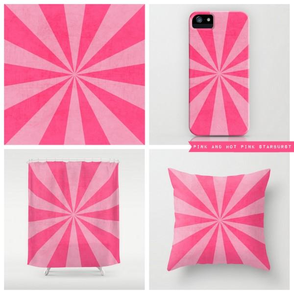 pinks starburst