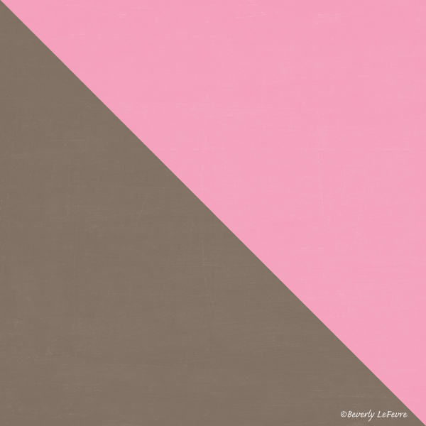 two triangles - coco and pink