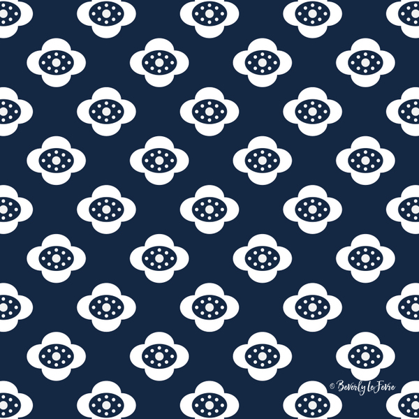 flower joy new floral pattern