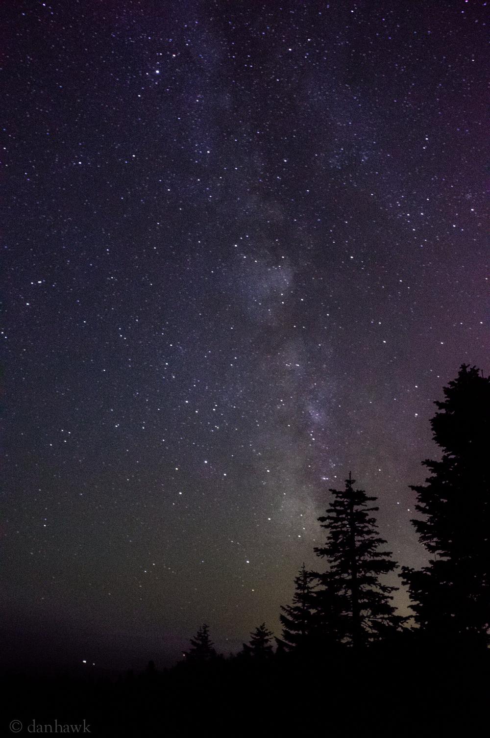 Larch Mt. Milky Way | 25sec, ISO 320, 18mm, f/6.3 | Sony NEX 5N