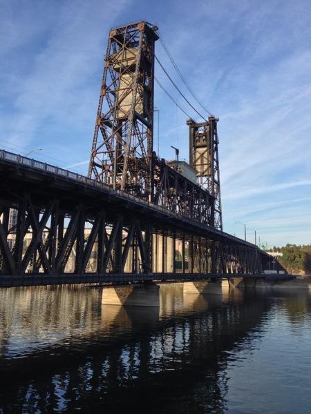 Steel Bridge Commute Home | iPhone 5