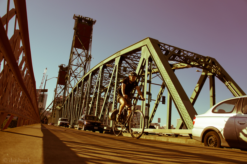 Bridge Commute | 365 Project | October 4, 2012 | Hawthorne Bridge, Portland