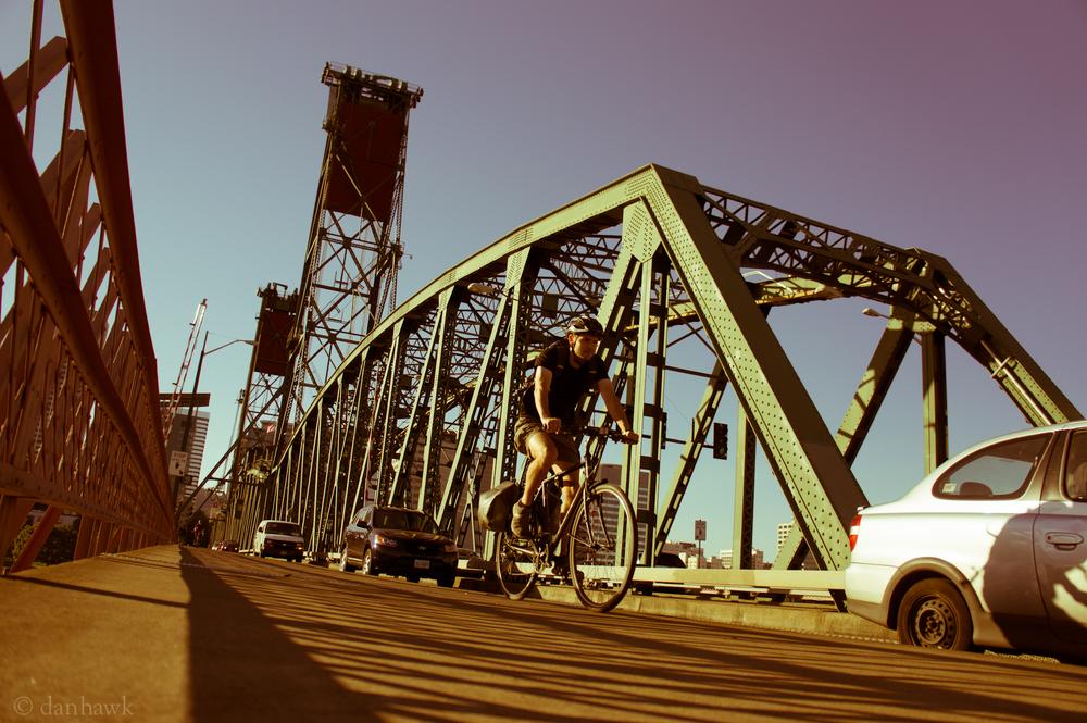Bridge Commute | 365 Project | October 4, 2012 | Hawthorne Bridge, Portland