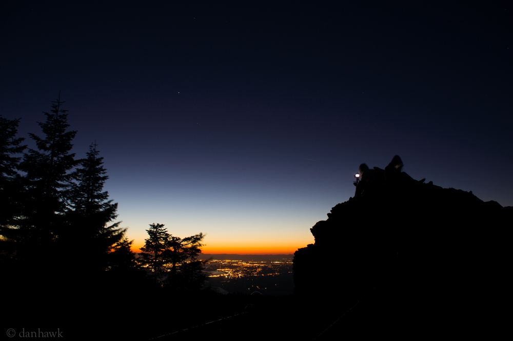 Larch Mt Twilight | 365 Project | October 6th, 2012