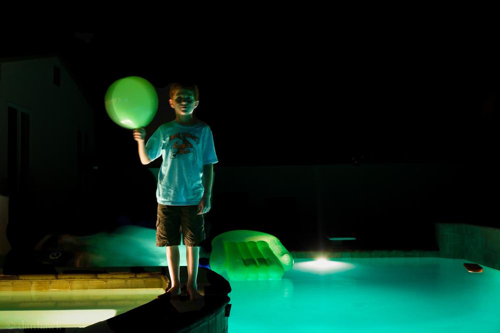Birthday Boy Balloon | 365 Project | Oct 15th, 2012