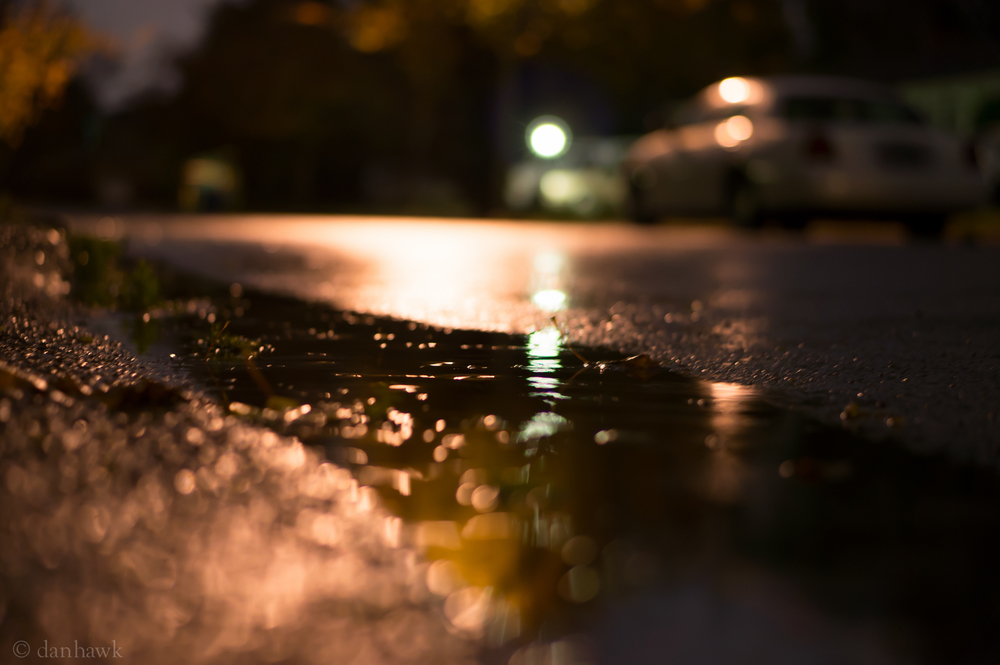 Rainy Night | 365 Project | Oct. 28th, 2012
