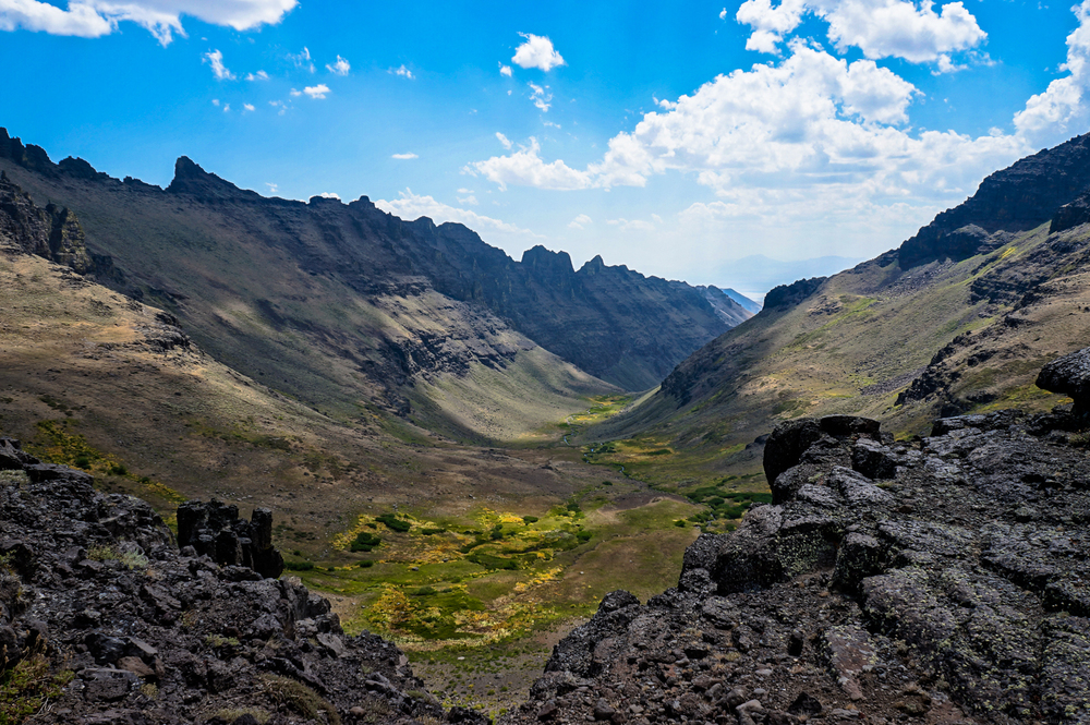 Wildhorse Canyon, Steens Mts. | August 2012 Downloads | Desktop | iPad | iPhone