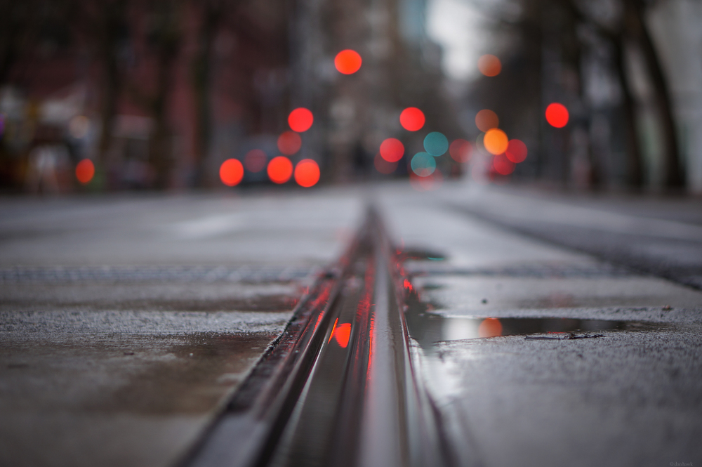 City Train Tracks | 365 Project | Jan 4th, 2012
