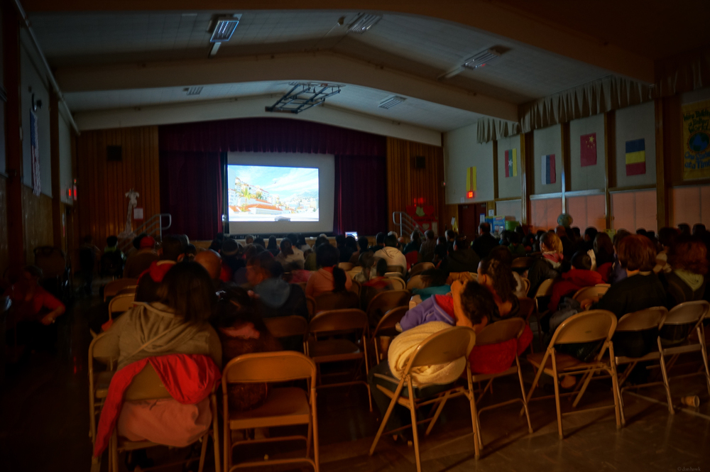 School Movie Night | 365 Project | Jan 24th, 2013