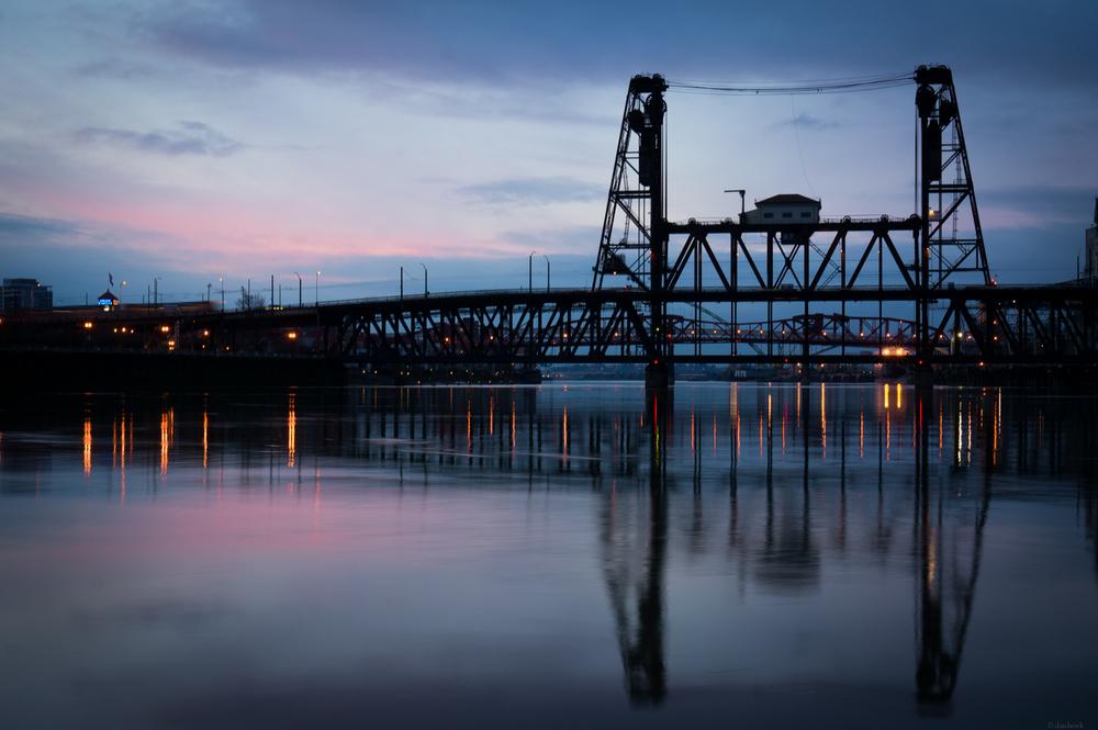 Smeared Steel Bridge | 365 Project | Jan 31st, 2013