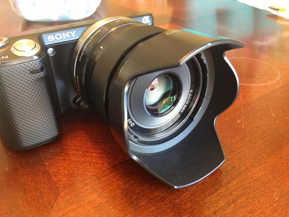 Sony Plastic Lens Hood