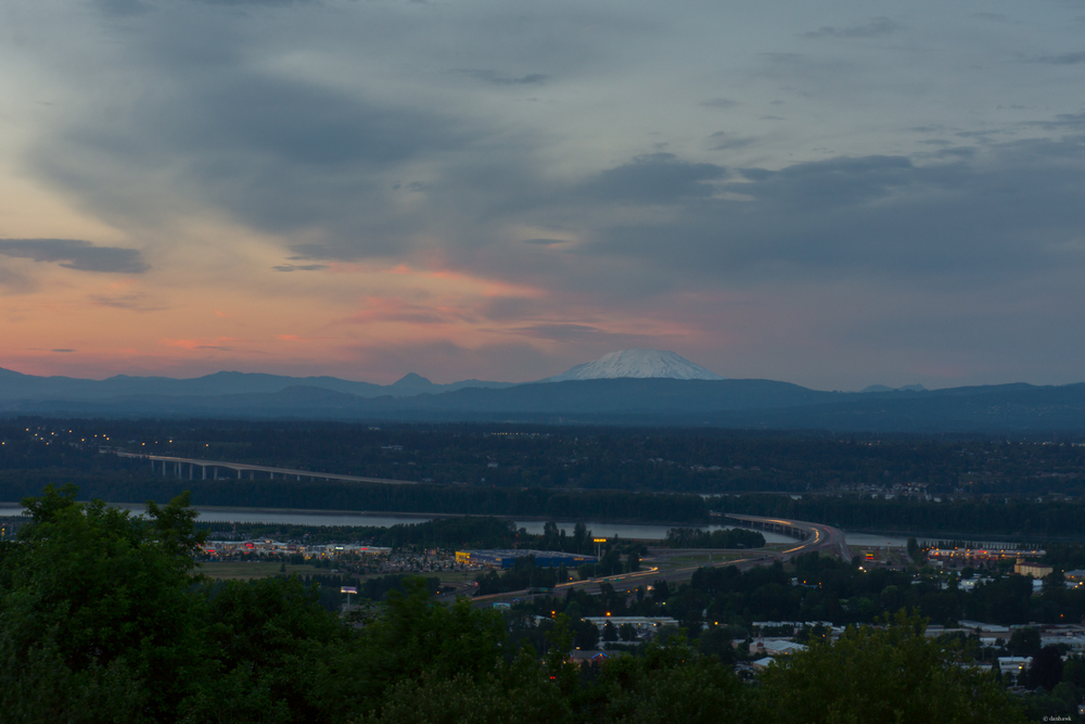 Mt St Helens from Rocky Butte | 365 Project | June 15th, 2013 | 55mm, f/11, ISO 100, 3.2 sec, ND Filter