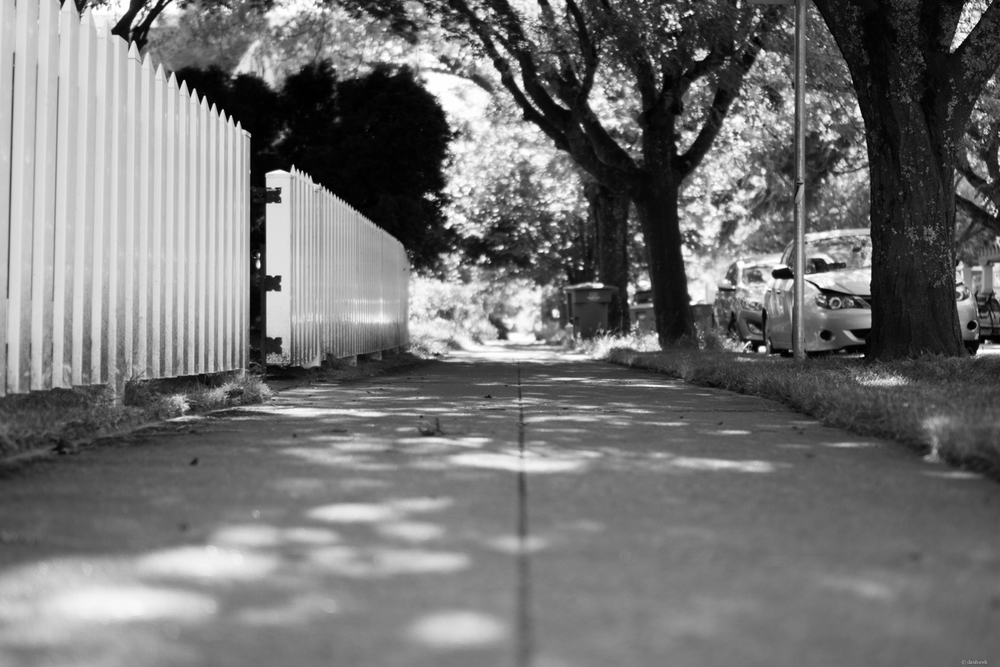 Down the Sidewalk | 365 Project | June 18th, 2013 | 35mm, f/1.8, ISO 100, 1/320