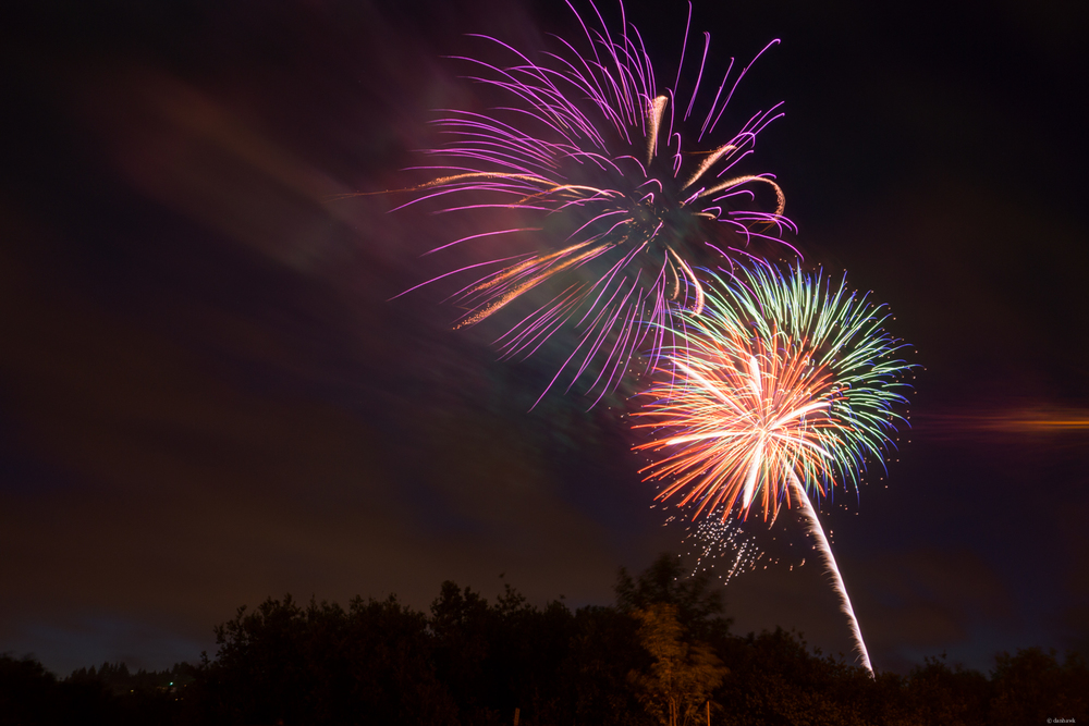 Multi Firework | 365 Project | July 4th, 2013 | 27mm, f/7.1, ISO 100, 8 sec
