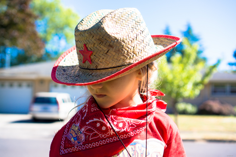 Wild West Girl | 365 Project | July 18, 2013 | 35mm, f/2.8, ISO 100, 1/500