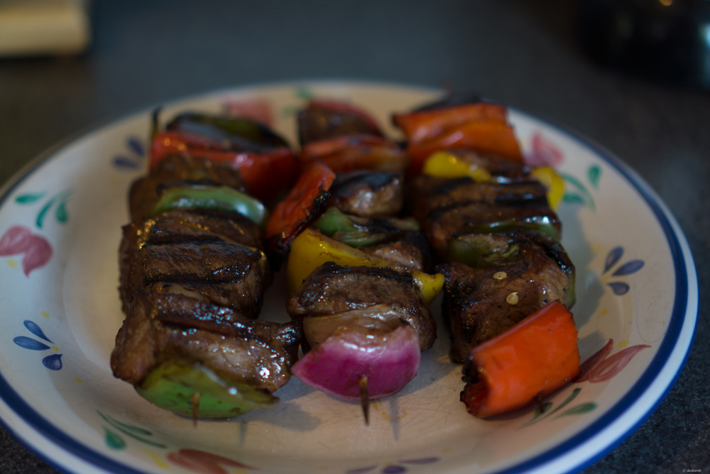 Kabobs | 365 Project | July 22nd, 2013 | 35mm, f/1.8, ISO 100, 1/20