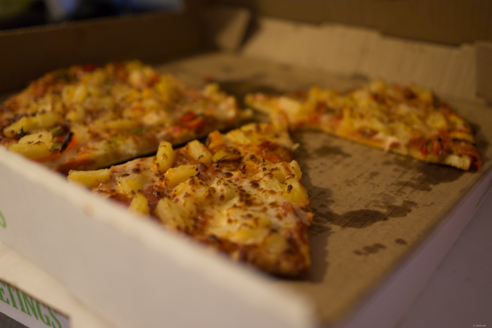 Kid Pizza | 365 Project | September 27th, 2013 | 24mm, f/1.8, ISO 100, 1/13