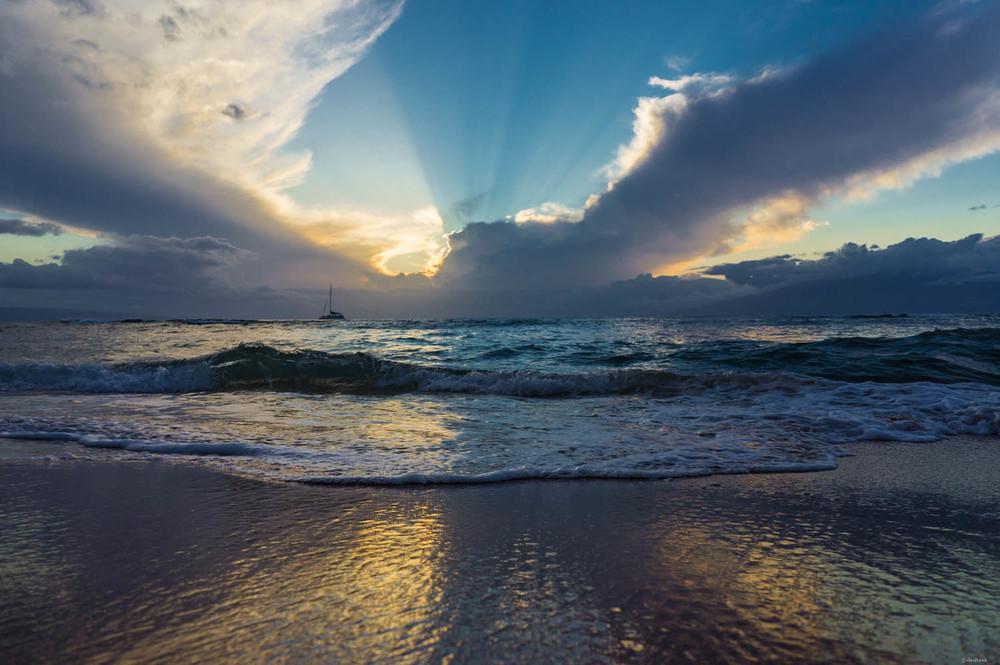 Beach Reflection | Ka'anapali, Maui | April 23rd