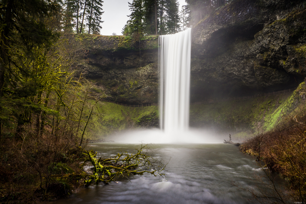 South Silver Falls | 18mm, f/14, ISO 100, 4 sec, Variable ND Filter