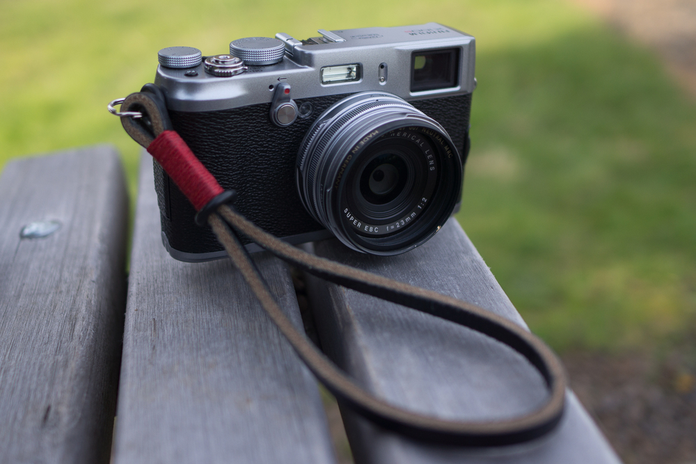 X100s Out at the Park