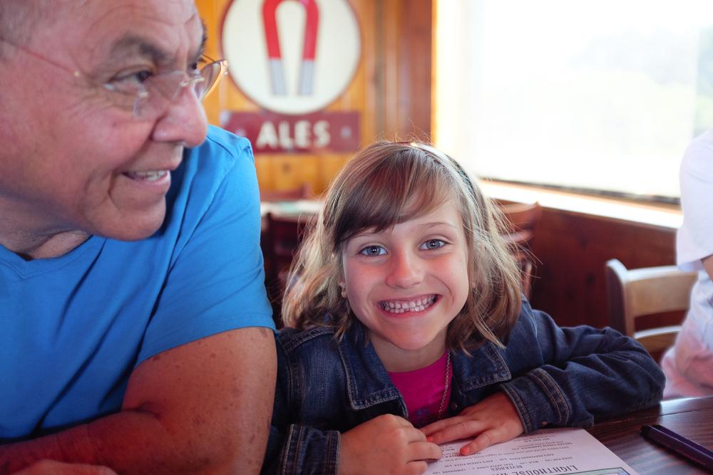 Grandpa and Aisy