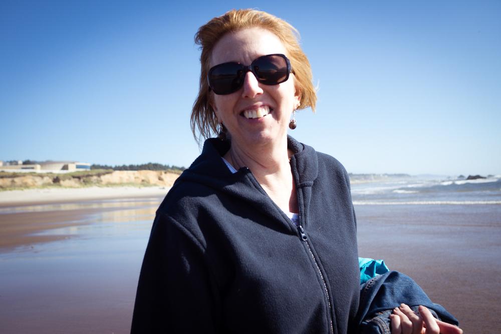 Beach Grandma