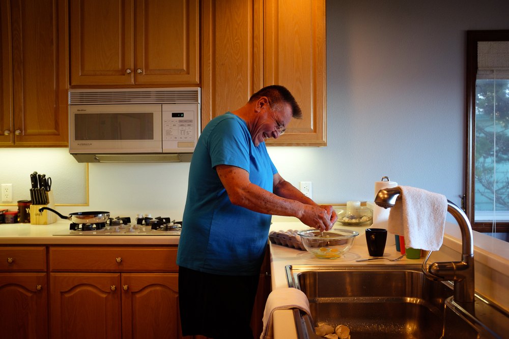 Grandpa Cooking