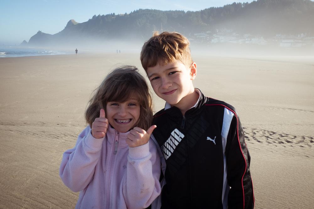 Good time on the beach