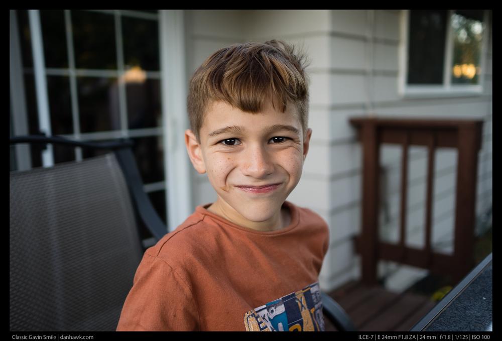 Classic Gavin Smile