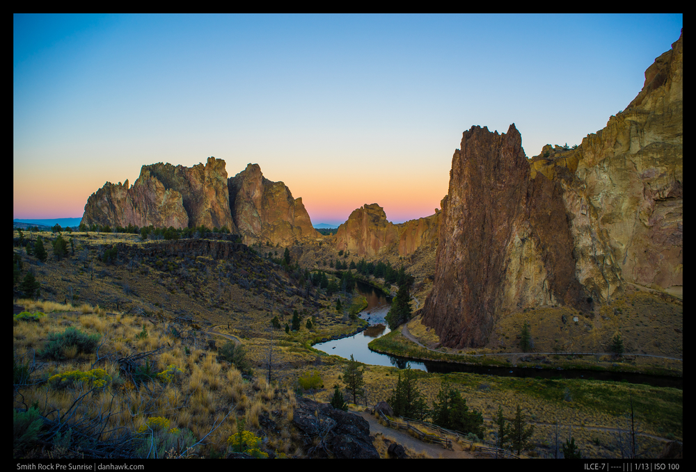 Smith Rock Pre Sunrise