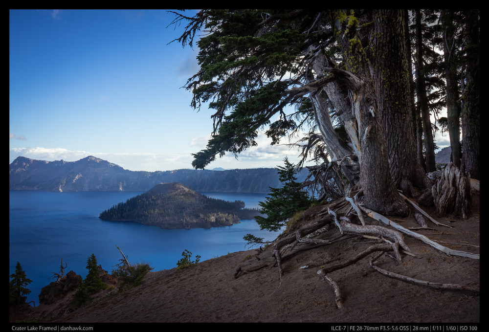 Crater Lake Framed