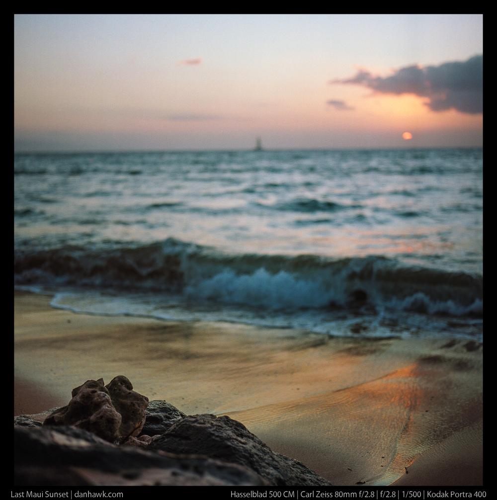 Last Maui Sunset