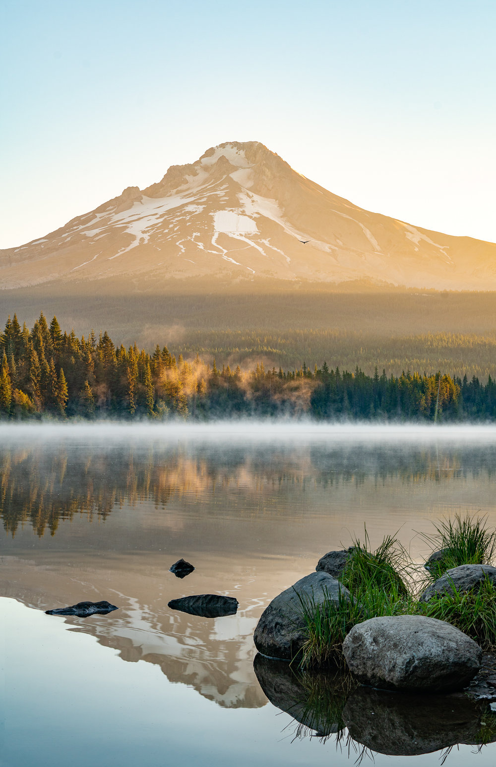 Trillium Lake Reflection