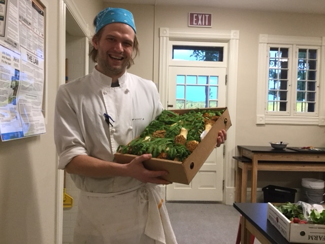 Chef Wes Nicoll, Shelburne Farms