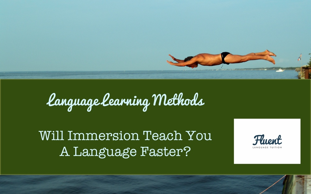 Language immersion: how long does it take? | Yahoo Answers