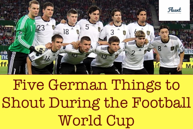 german football vocabulary