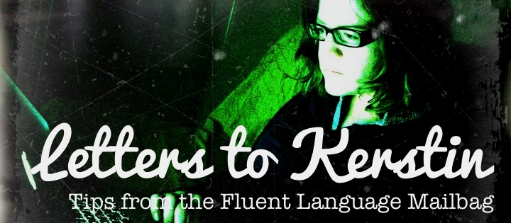 letters to kerstin