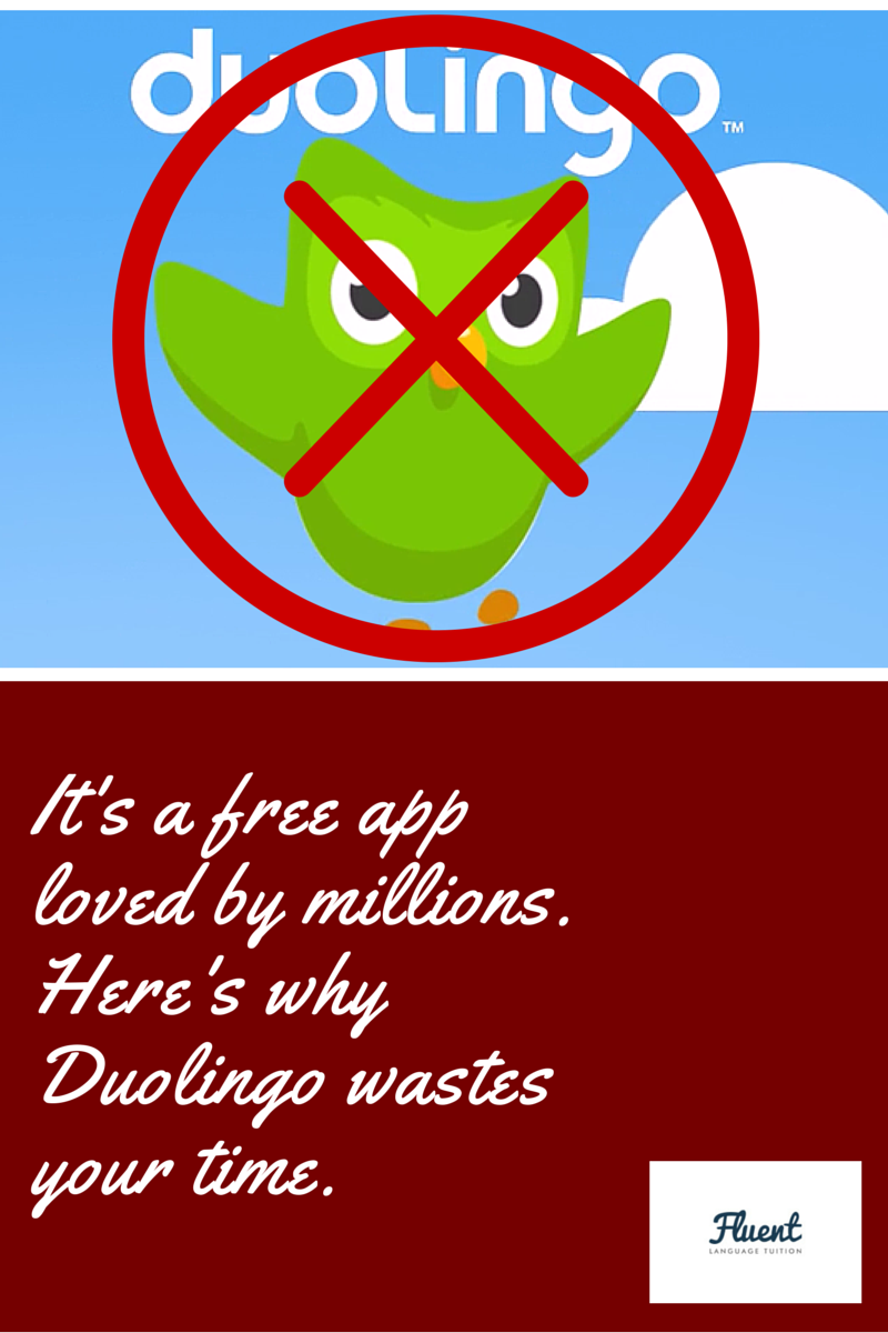 It's a free app loved by millions  Is Duolingo wasting your