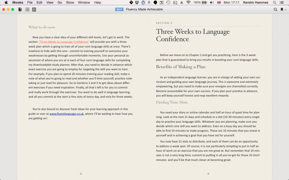 Pretty! Optimized for your Mac or iPad. And ever so helpful :)