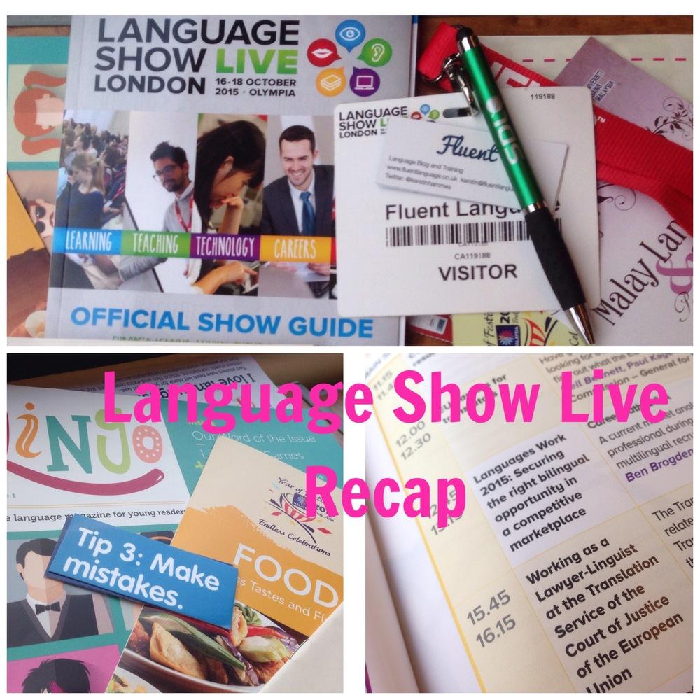 language show live recap