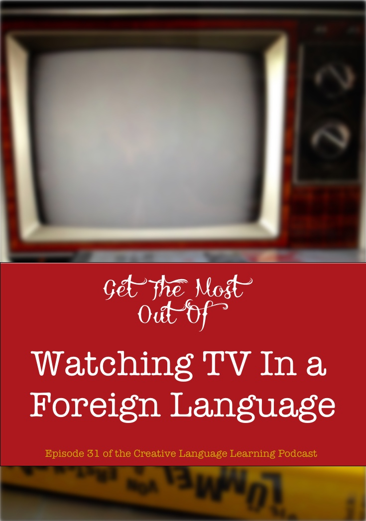 language learning with tv
