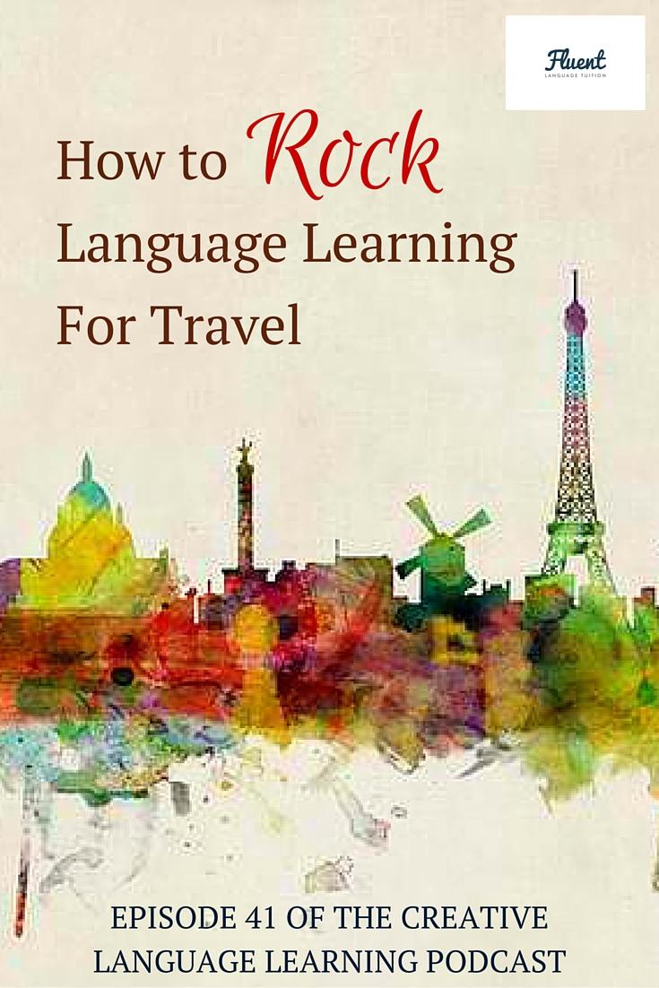 language learning travel
